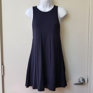 🍂H&M Basic Lined Trapeze Dress with Pockets